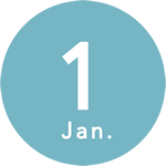 1月始まりダイアリー