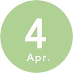 4月始まりダイアリー