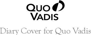 Diary Cover for Quo Vadis